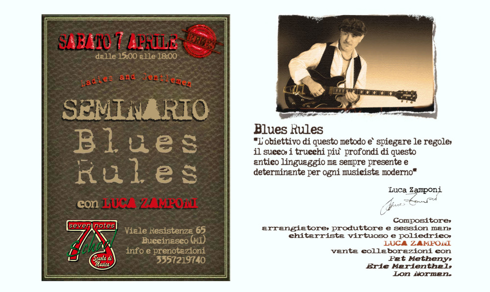 blues rules evento 2