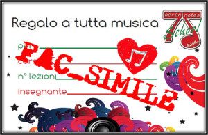 fac-simil Gift7Notes