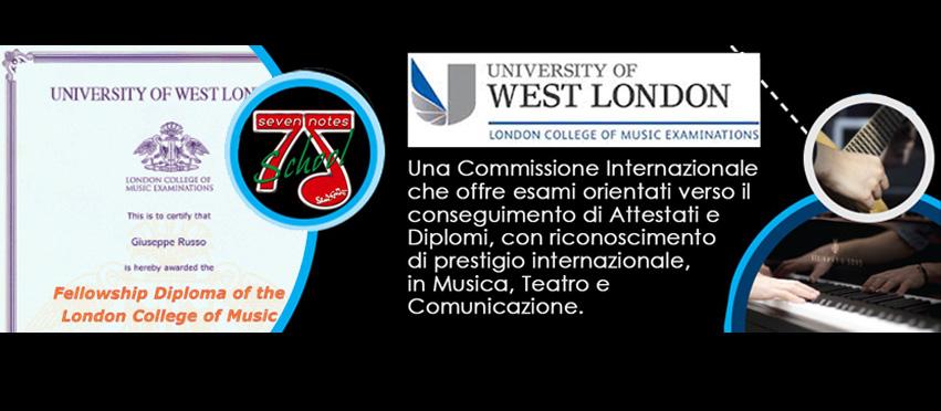 Diplomi LCM | University of London